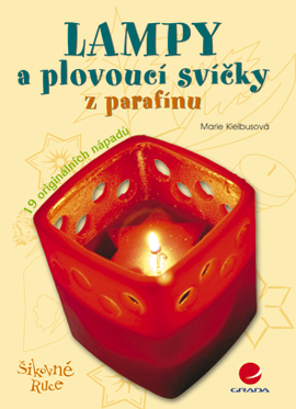 Lampy a plovoucí svíčky z parafínu - Marie Kielbusová