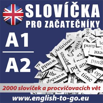 Angličtina - slovíčka pro začátečníky A1, A2