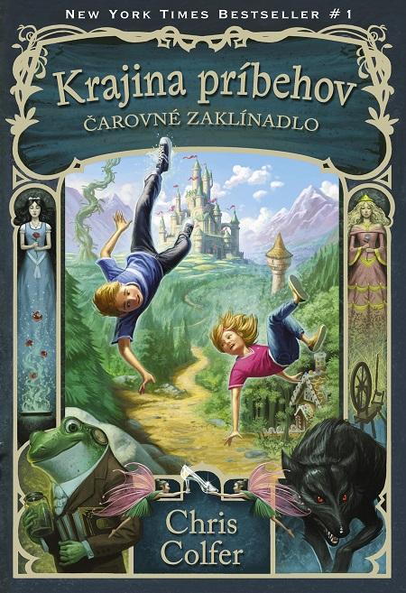 Krajina príbehov: Čarovné zaklínadlo - Chris Colfer
