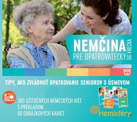 Nemčina pre opatrovateľky do vrecka - Lucie Meisnerová