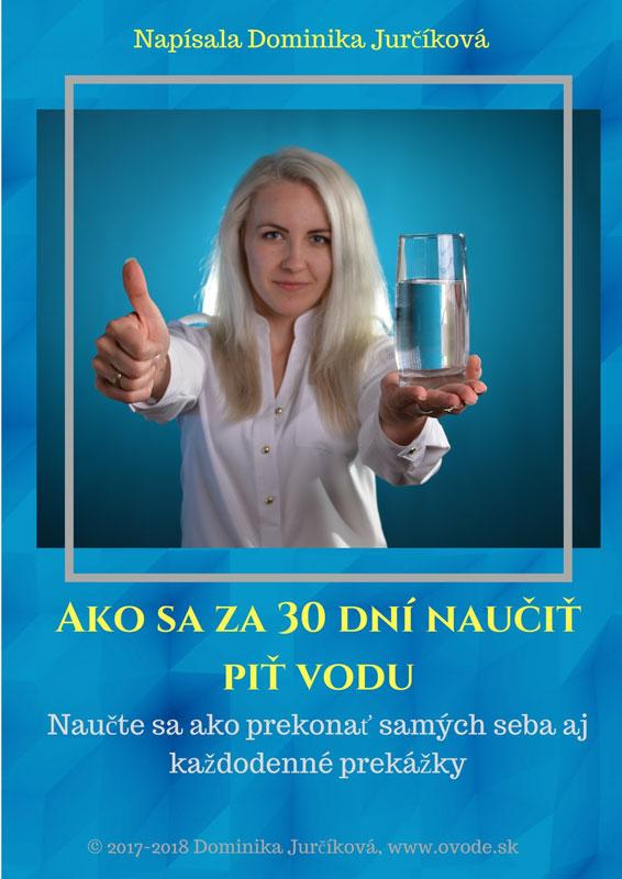Ako sa za 30 dní naučiť piť vodu