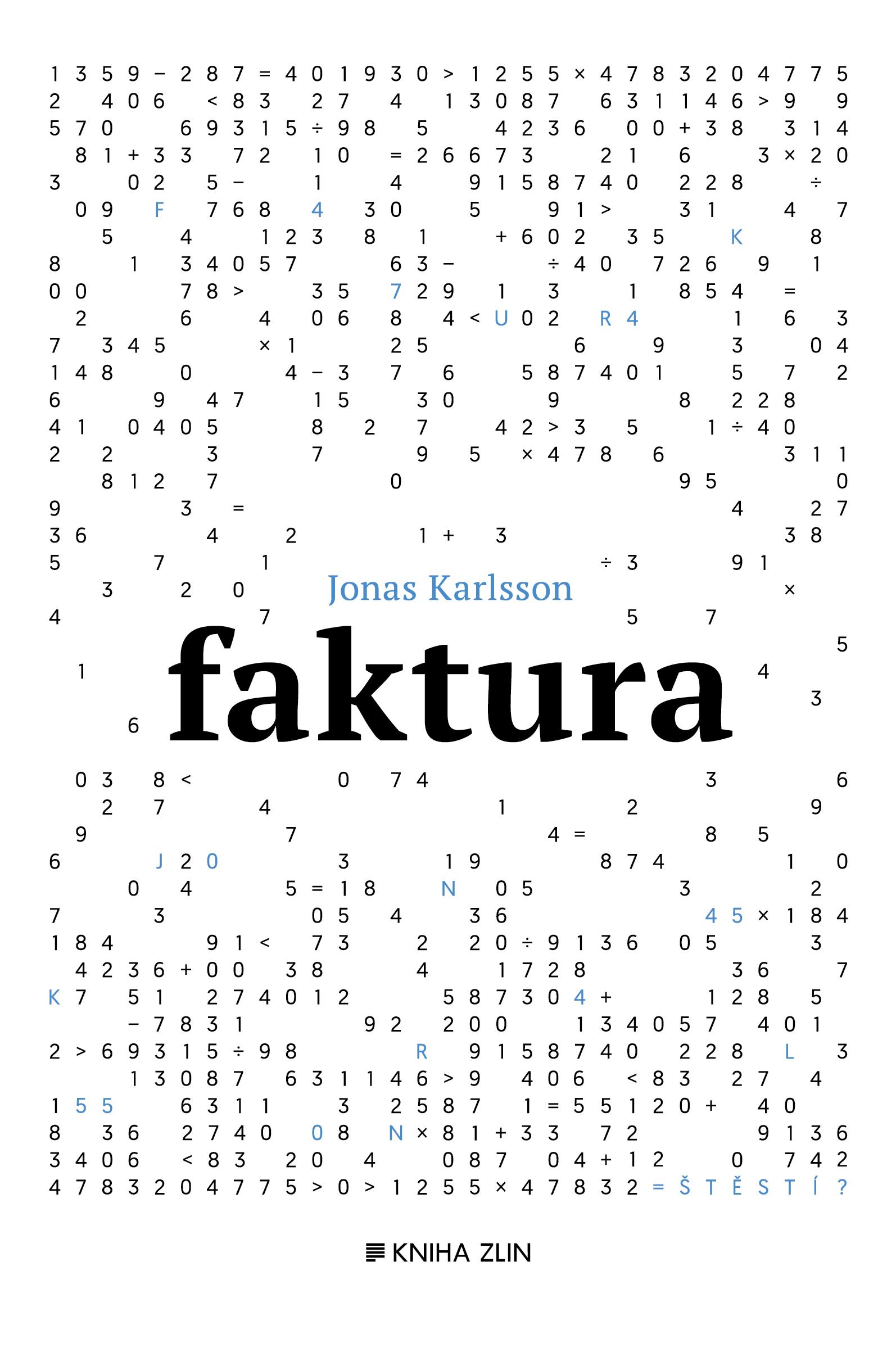 Faktura - Jonas Karlsson