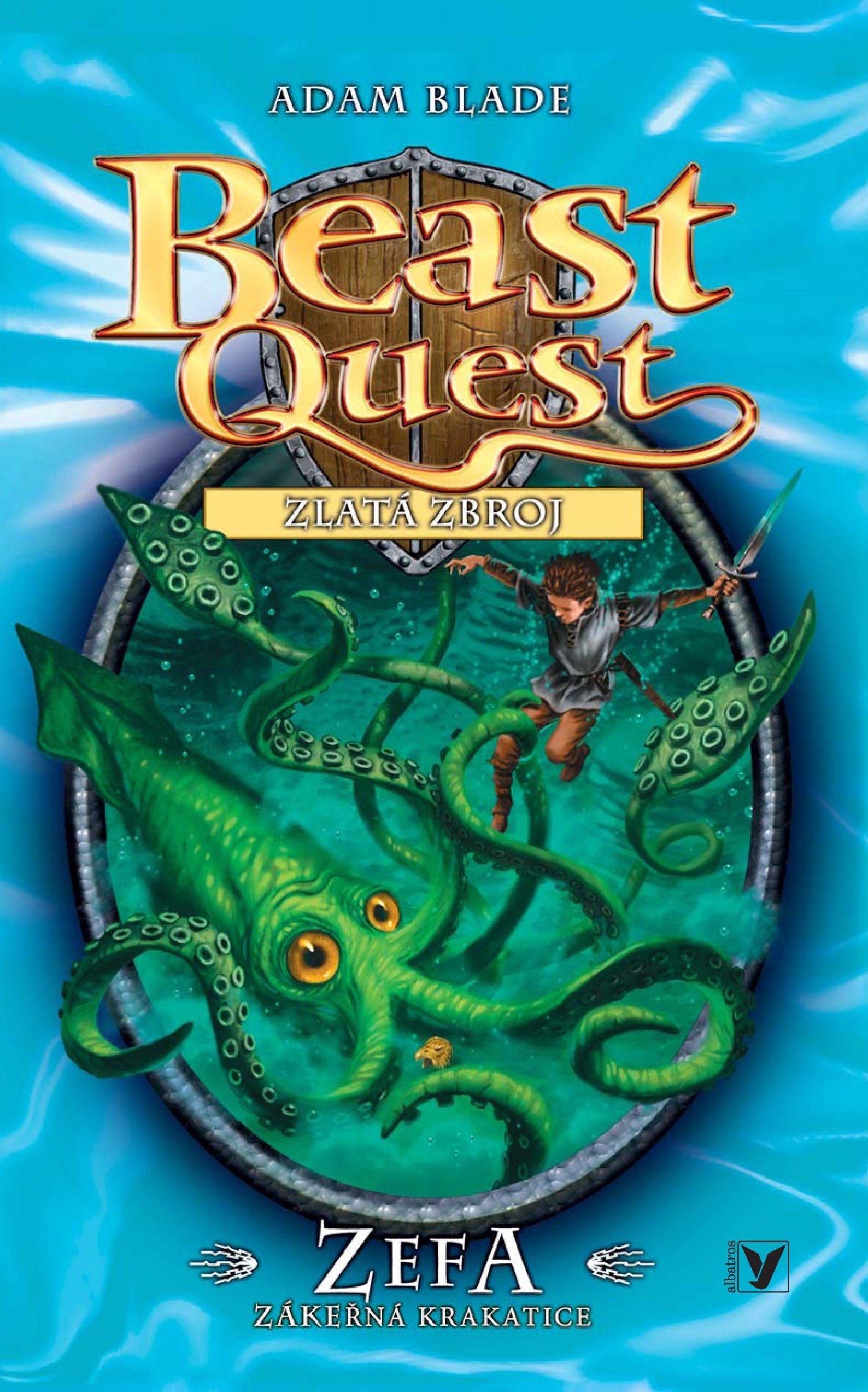 Zefa, zákeřná krakatice - Beast Quest (7) - Adam Blade
